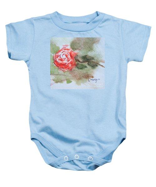 Little Rose Baby Onesie