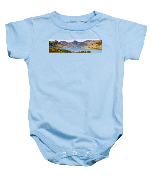 Loch Arklet And The Arrochar Alps Baby Onesie