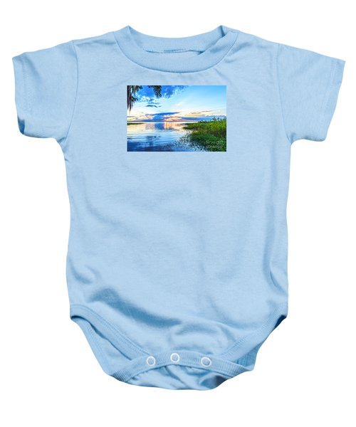 Baby Onesie featuring the photograph Lochloosa Lake by Anthony Baatz