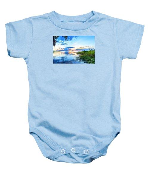 Lochloosa Lake Baby Onesie by Anthony Baatz