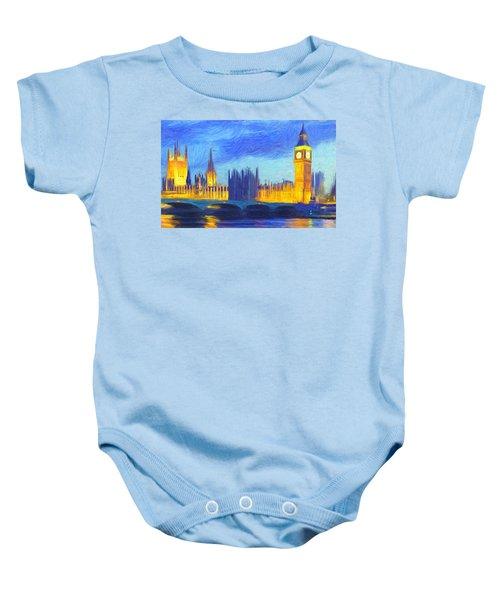 London 1 Baby Onesie