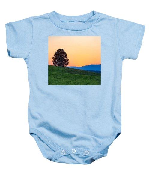 Lone Tree Baby Onesie