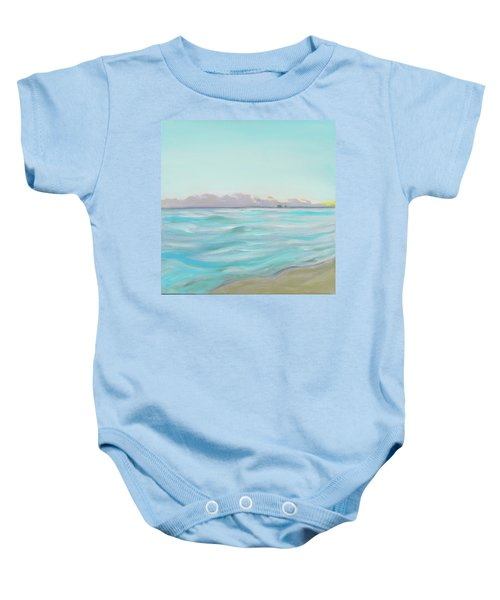 Looking South Tryptic Part 2 Baby Onesie