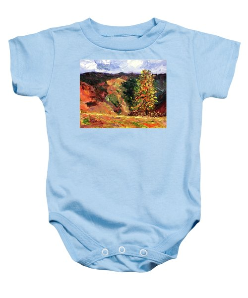 Loose Landscape Baby Onesie