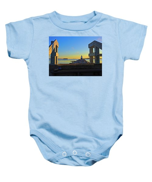 Lost Shoes Baby Onesie