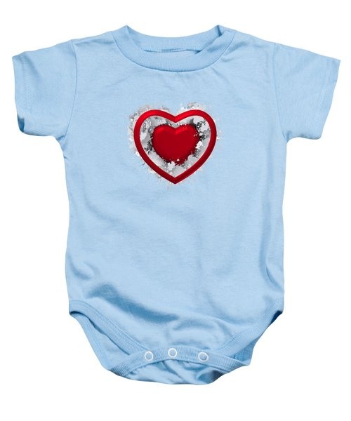 Love In Love Baby Onesie