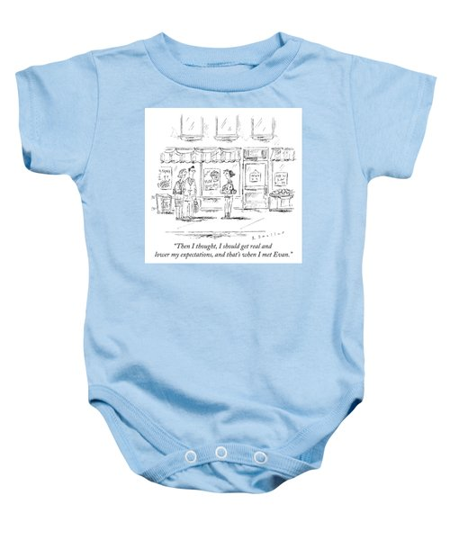 Lower Expectations Baby Onesie