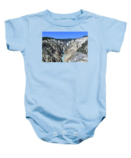Lower Falls From Artist Point Baby Onesie