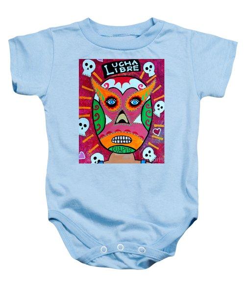 Lucha Libre Baby Onesie