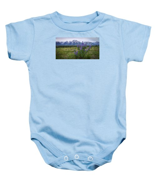 Lupine Beauty Baby Onesie by Chad Dutson