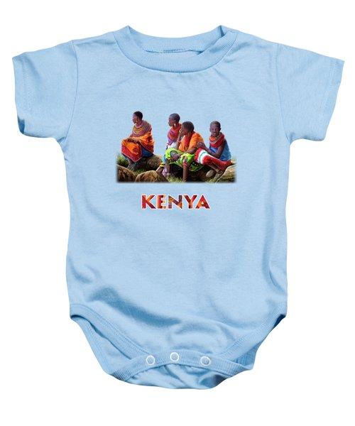 Maasai Women Baby Onesie