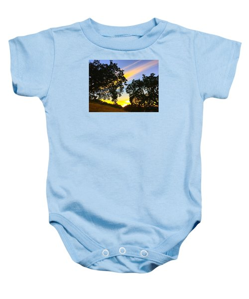 Magic Hour Sunset Baby Onesie