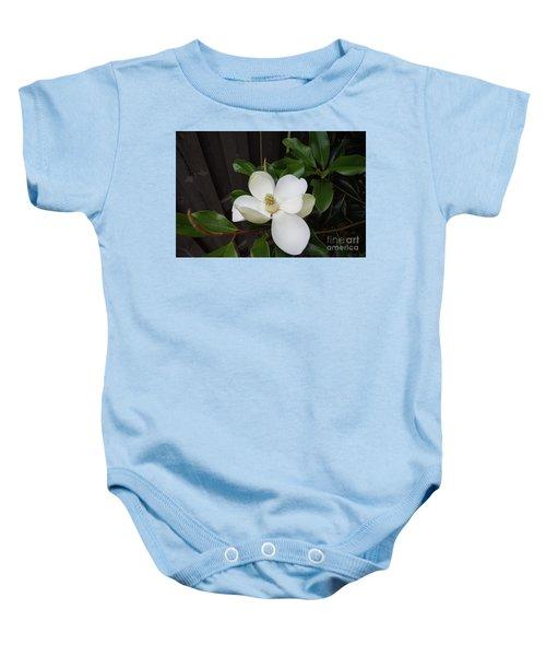 Magnolia 3 Baby Onesie