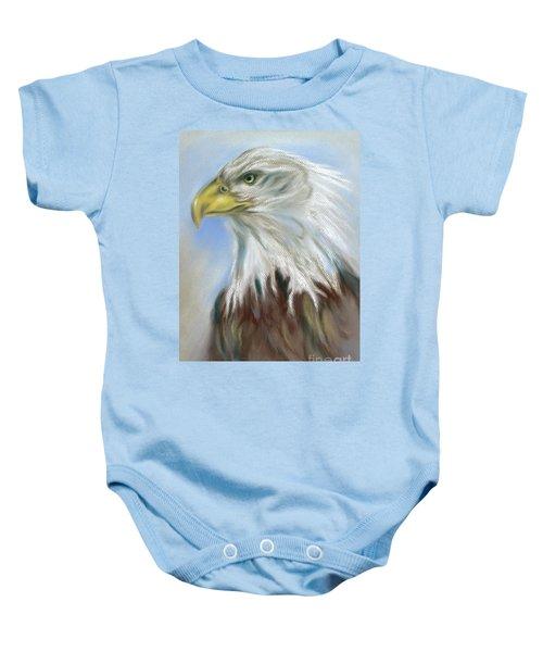 Majestic Bald Eagle Baby Onesie