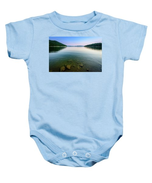 Majestic Lake Baby Onesie