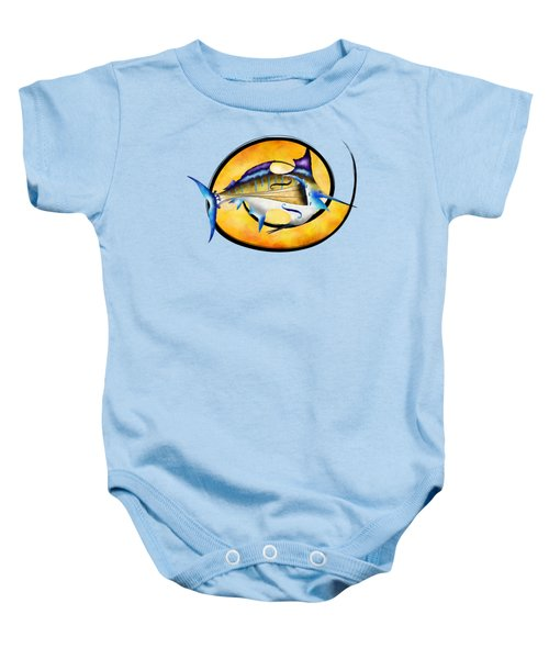 Marlinissos V1 - Violinfish Without Back Baby Onesie by Cersatti