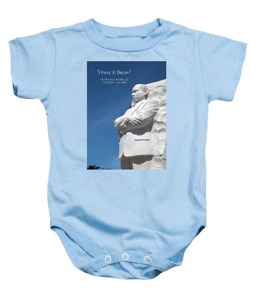 Martin Luther King Jr. Monument Baby Onesie