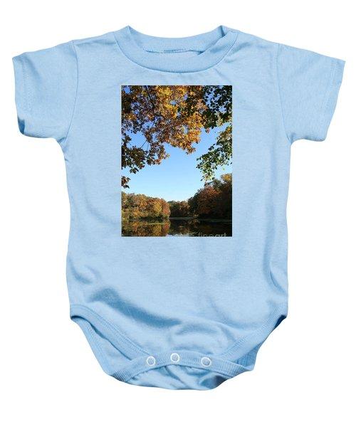 Matthiessen Lake In Autumn Baby Onesie