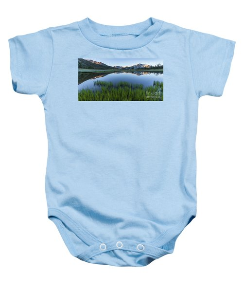 Meadow Reflections  Baby Onesie