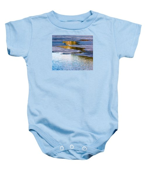 Meandering Towards Spring Baby Onesie