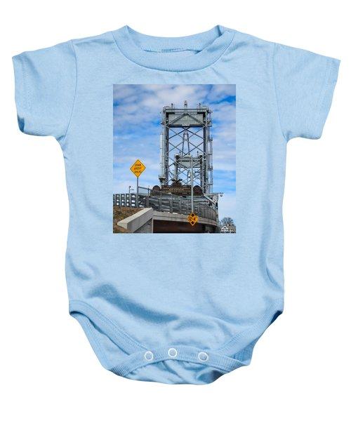 Memorial Bridge Portsmouth  Nh Baby Onesie