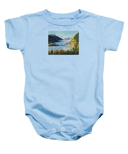 Mendenhall Glacier Juneau Alaska Baby Onesie