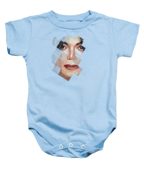 Michael Jackson T Shirt Edition  Baby Onesie