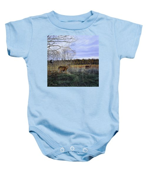 Take Out - Deer Baby Onesie