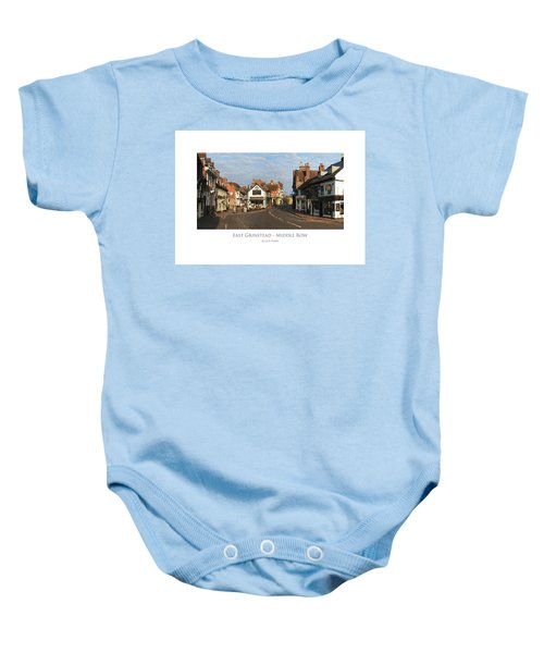 Middle Row East Grinstead Baby Onesie