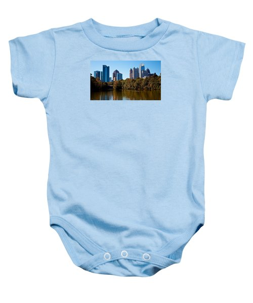 Midtown In The Fall Baby Onesie