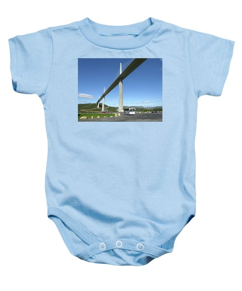 Millau Viaduct Baby Onesie