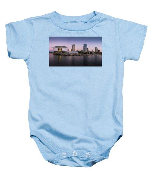 Milwaukee Sky Baby Onesie