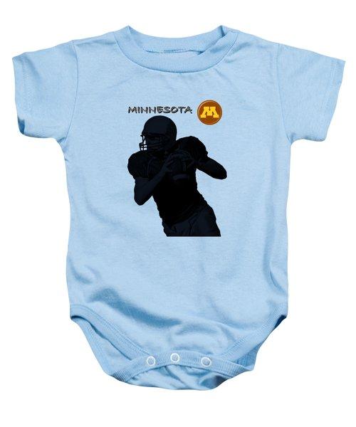 Minnesota Football Baby Onesie by David Dehner