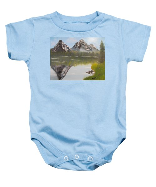 Mirror Mountain Baby Onesie