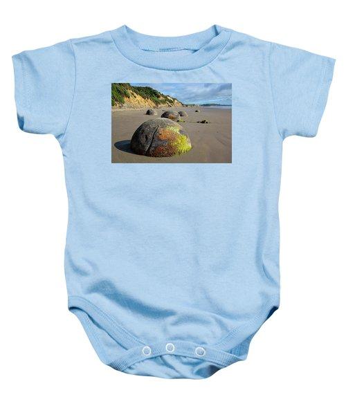Moeraki Boulders Baby Onesie