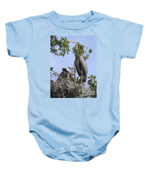 Mom And Babies Baby Onesie