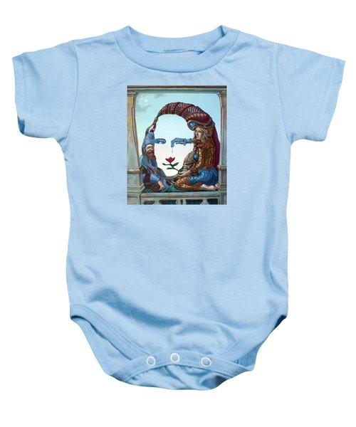 Mona Lisa. Love Baby Onesie