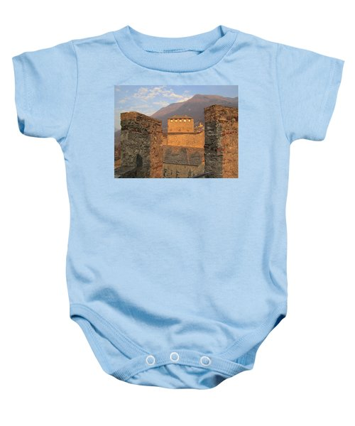Montebello - Bellinzona, Switzerland Baby Onesie
