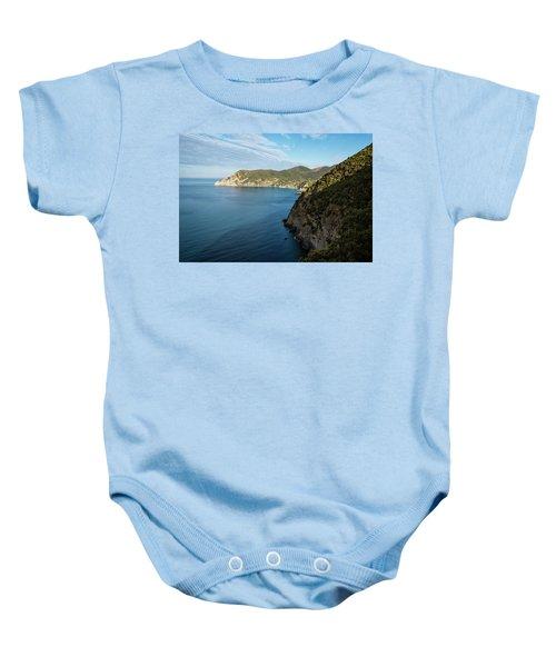 Monterosso And The Cinque Terre Coast Baby Onesie