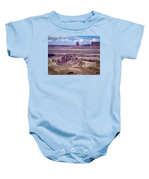 Monument Basin, Canyonlands Baby Onesie
