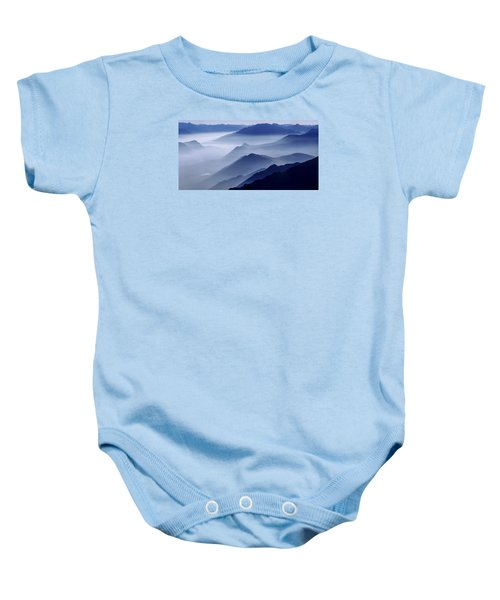 Morning Mist Baby Onesie