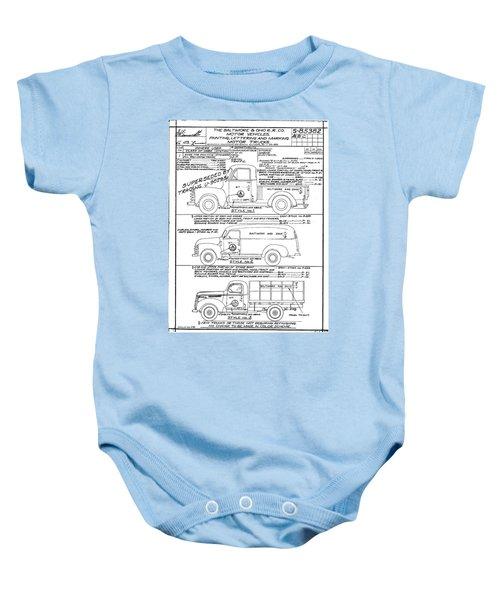 Motor Vehicles Baby Onesie