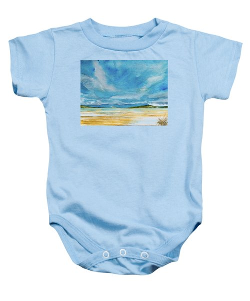 View Of Mount Wellington From South Bruny Island Baby Onesie