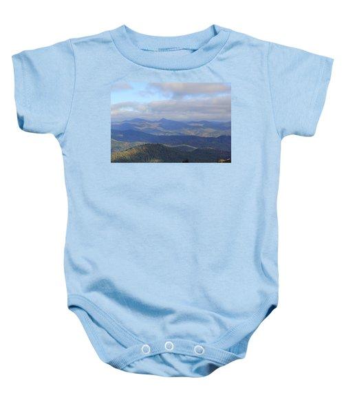 Mountain Landscape 3 Baby Onesie