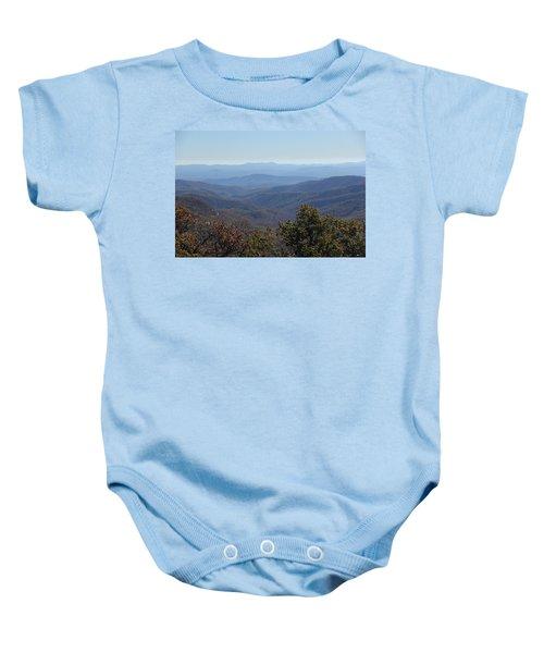 Mountain Landscape 4 Baby Onesie