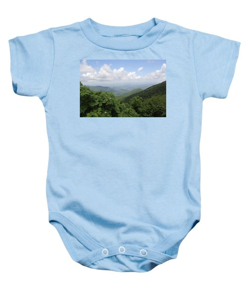 Mountain Vista Baby Onesie