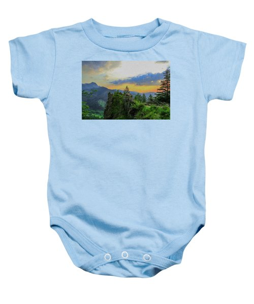 Mountains Tatry National Park - Pol1003778 Baby Onesie