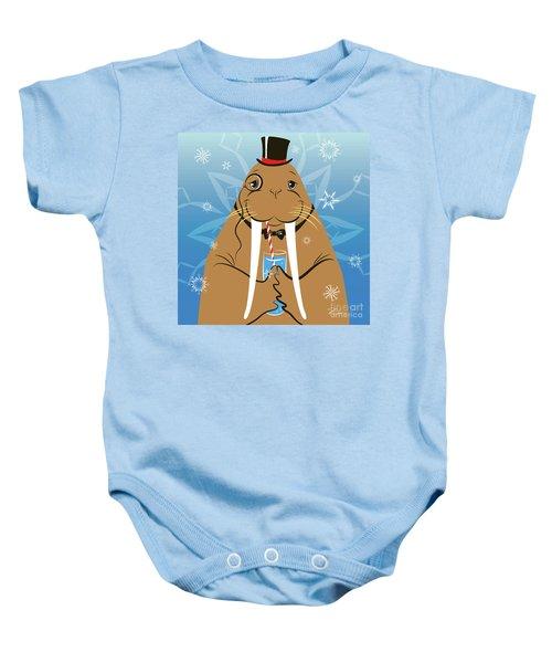 Mr. Walrus Baby Onesie