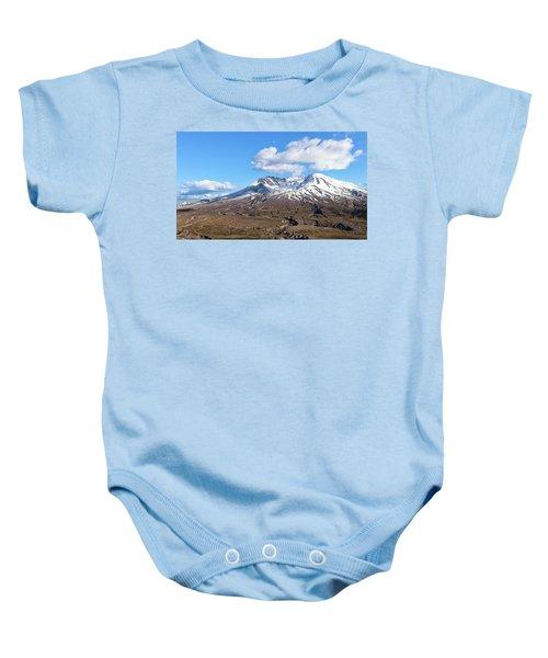 Mt Saint Helens Baby Onesie