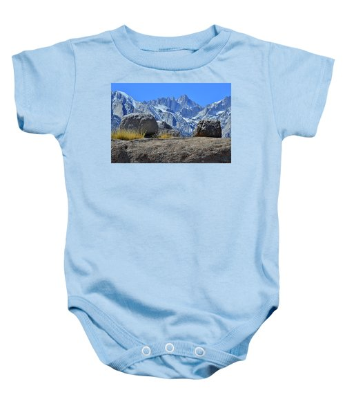 Mt. Whitney - Highest Point In The Lower 48 States Baby Onesie